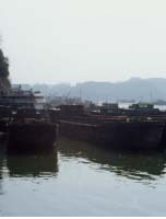 Barges in RP sand
